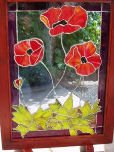 Poppy Fire screen
